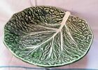 Bordallo Pinheiro Secla Lilian Portugal Green Cabbage Leaf Tablewares Majolica