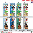 Personalised Pirate Height Chart Wall Sticker Kids Childrens Nursery Bedroom