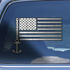 American Flag Boater Decal Sticker - USA Flag Boating Ship Boat Captain Decal
