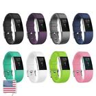8 Color Soft TPU Metal Buckel Sport Replacement Wrist Band for Fitbit Charge 2