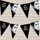 Black & White Elvis Presley Birthday Bunting Garland Party Banner