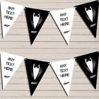 Tuxedo Prom James Bond Birthday Bunting Garland Party Banner $7.75 USD on eBay