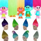 Adult Troll Style Festival Party Colourful Elf Pixie Wig Hair Cartoon Cosplay US image