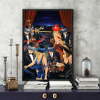 Get Together Victor Ostrovsky Print Dining Room Wall Deco Art Painting on Canvas