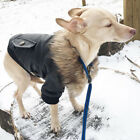 Leather Dog Coat Waterproof Outfit Winter Clothes Puppy Jacket for Small Dogs US