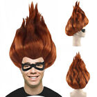 Cosplay Incredibles 2 Syndrome Edna Jack Dashiell Violet Helen Parr Party Wig