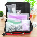 Clear Plastic Travel Cosmetic Make Up Toiletry Bag Clothing