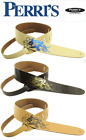 """Perris Leathers 2.5"""" Adjustable Leather Guitar Strap w/ NUDE"""