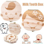 2018 Tooth Box organizer for baby Save Milk teeth Wood storage box for kids NS