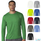 Gildan Men's Performance Long Sleeve T-Shirt Freshcare™ Plain Tee 42400 image