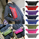 Fashion Men Womens Sport Waist Pack Fanny Pack Crossbody Wallet Belt Travel Bag