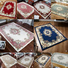 NEW SOFT TRADITIONAL ROYAL CLASSIC HAND TUFTED RUG 100% INDIAN WOOL RUG & ROUND