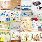 Cute Cartoon Kids Removable Wall Stickers Animals Decal Baby Room Home Decor