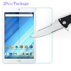 2X Tempered Glass Screen Protector Film For Acer Iconia One 10 8 7 B 3 2 1 Tab10