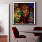 Modern Living Room Decor African Wall Art HD Prints Canvas Character Painting