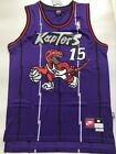 Toronto Raptors Vince Carter 15 Purple Throwback Swingman Jersey S M L XL XXL