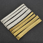 Men's Stainless Steel Expansion Stretch Watch Band Watchband Strap Bracelet image