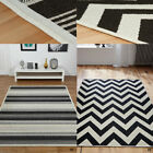 NEW ANTI-SLIP FLATWOVEN RUGS ANTI-SKID BACKING SISAL LOOK RUGS & HALLWAY RUNNER