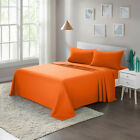 Soft 1800 Count 4-Piece Bed Sheet Set Twin Full Queen King Brushed Microfiber image