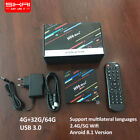 H96 Max with an increment of 4G+32G/64G Quad Core 4K Dual Wifi Android 8.1 TV Box Media Streamer