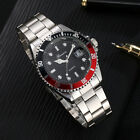 GONEWA Men Military Stainless Steel Date Sport Quartz Analog Wrist Watch Nice image