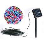 50/100/200 LED Solar Power Fairy Lights String Garden Outdoor Party Wedding Xmas
