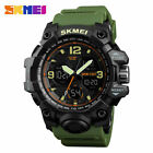SKMEI Men Military Army Sport Analog Digital LED Watch Waterproof Tactical Watch image