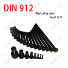 Внешний вид - M3 M4 M5(4mm To 100mm) Allen Hex Socket Cap Head Screws Bolts Black Alloy Steel