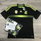 Adidas ClimaCool Spain Soccer World Cup 2014 Away Football Jersey Shirt $90 MSRP
