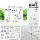 Внешний вид - Animals Friend Transparent Silicone Clear Stamps DIY Scrapbook Embossing Card