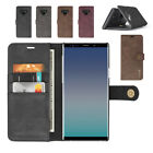 For Samsung Note 9 Folio Purse Leather Detachable Magnetic Case with Flip cover