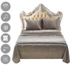 Grey High Quality Egyptian Comfort 1800 Count Ultimate 4 Piece Bed Sheet image