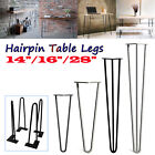 Hairpin Table Legs Industrial Retro Chic Style Coffee Seat Bench 14