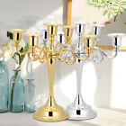 Retro Antique Metal Candelabra Candle Holder Stand Romantic Wedding Home Decor