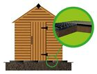 GRID ECO KIT PERMEABLE PLASTIC BASE + HD MEMBRANE - GRASS & GRAVEL PAVING MAT em