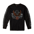 Harley-Davidson Genuine Checker Long Sleeve Tee Shirt