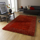 NEW MEDIUM LARGE SOFT THICK BORDERED SABLE 2 RUG BEST QUALITY RUGS BY THINK RUGS