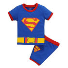 Toddler Kid Boy Girl Short Sleeve Top T-Shirt + Shorts Summer Outfit Set Clothes