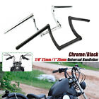 "7/8"" & 1'' Motorcycle Drag Bars Handlebars Z Bar For Yamaha Suzuki Honda Harley $44.64 USD on eBay"