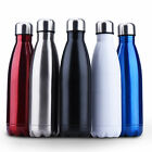 350~1000ml Double Wall Vacuum Cup Insulated Stainless Steel Water Bottle Sport
