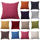 Retro Colorful Throw Waist Pillow Cases Sofa Decor Outdoor Square Cushions Cover