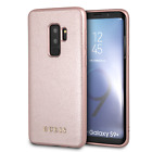 Guess PU Leather Hard Case Samsung Galaxy S9 Plus Cell Phone Cover