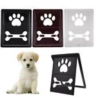 Pet Doors Gate Dog Screen Door Window Magnetic Suspension  3 Colors US