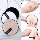Microfiber Cleansing Cloth Pads Face Cleaner Makeup Remover Towel  Plush puff