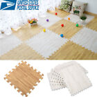 9Pcs Eva Foam Puzzle Exercise Play Mat Interlocking Floor Soft Tiles 30*30cm US image
