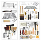 Leather Craft Tools Punch Kit Stitching Carving Working Sewing Saddle Groover Us