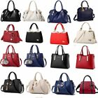 Womens Pu Leather Purses And Handbags Shoulder Bags Top-handle Satchel Crossbody