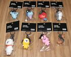 BANGTAN BOYS BTS BT21 NAVER LINE OFFICIAL GOODS FIGURE KEYRING KEY RING SEALED