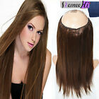 """US Stock! Hidden Halo Invisible Wire Weft 100% Remy Human Hair Extension 14"""""""
