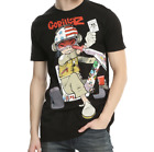 Gorillaz Chopper Kid Noodle T-Shirt Mens Concert Band Black Authentic Tee NWT image